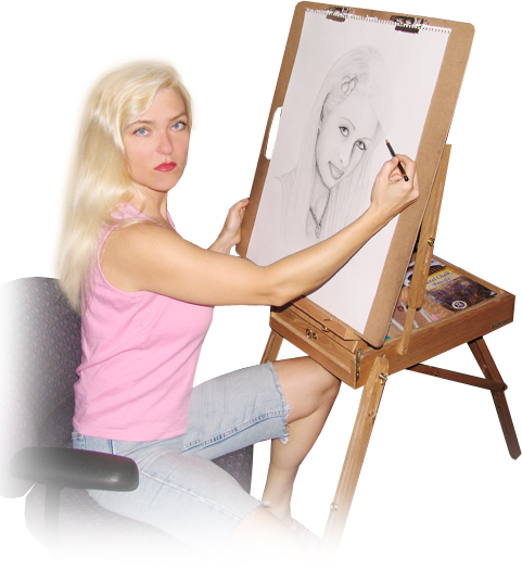 Edina Kinga Agoston · Portrait Artist, Graphic Artist, Web Designer