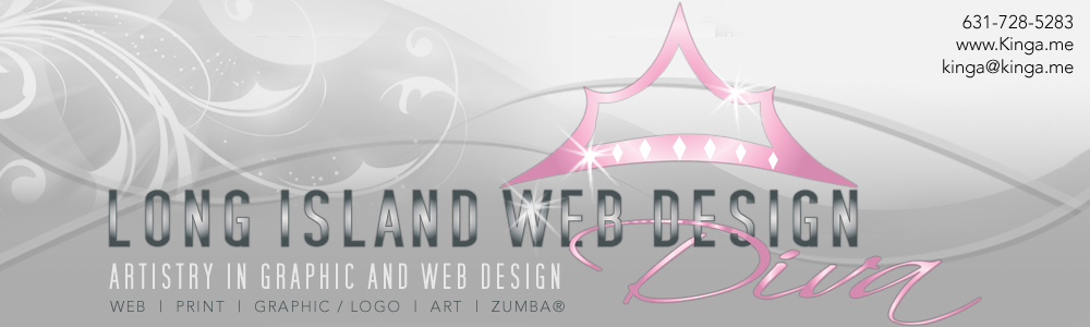 Kinga Long Island New York - Web Design Development - Print Catalog Brochure Flyer - Graphic Logo - Art Pencil Portrait - Zumba Dance Fitness