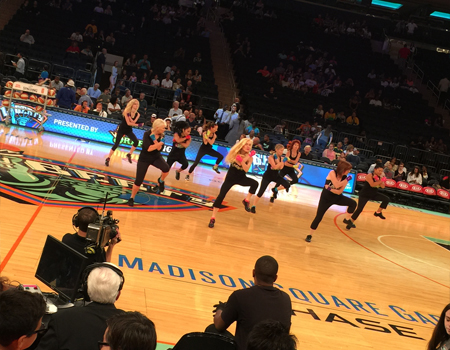 Dance Fitness with Kinga at Madison Square Garden - LaBlast