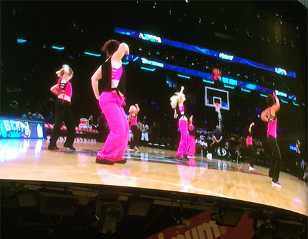 Dance Fitness with Kinga at Madison Square Garden - Zumba