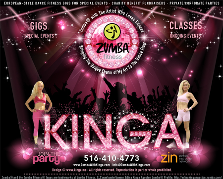 LaBlast with Kinga - Dance Fitness Classes Gigs -  Hamptons Long Island New York