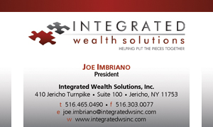 Integrated Wealth Solutions Helping To Put The Pieces Together Web Www Integratedwsinc Business Card